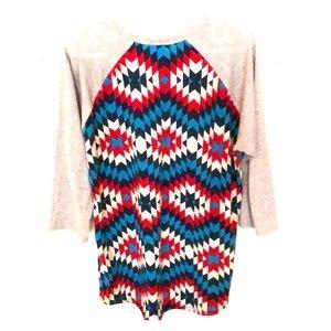 Quarter sleeve lularoe shirt